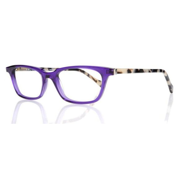 New Face a Face Trans Violet Eyeglasses